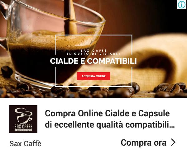 Annuncio Google Ads Sax Caffe 4