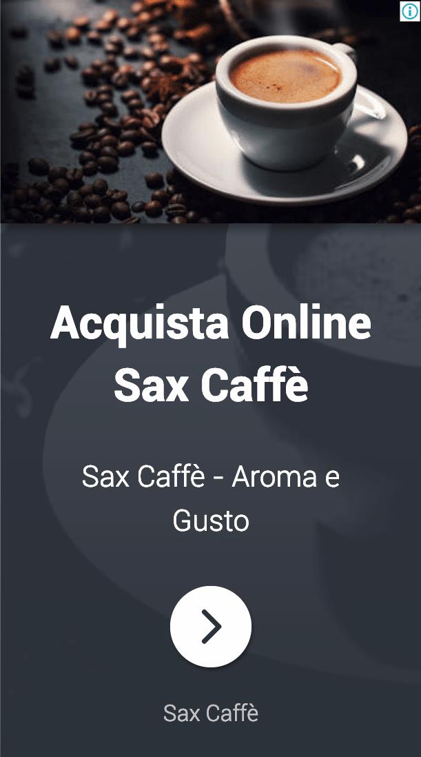 Annuncio Google Ads Sax Caffe 6