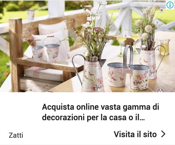 Annuncio Google Ads Zatti 7