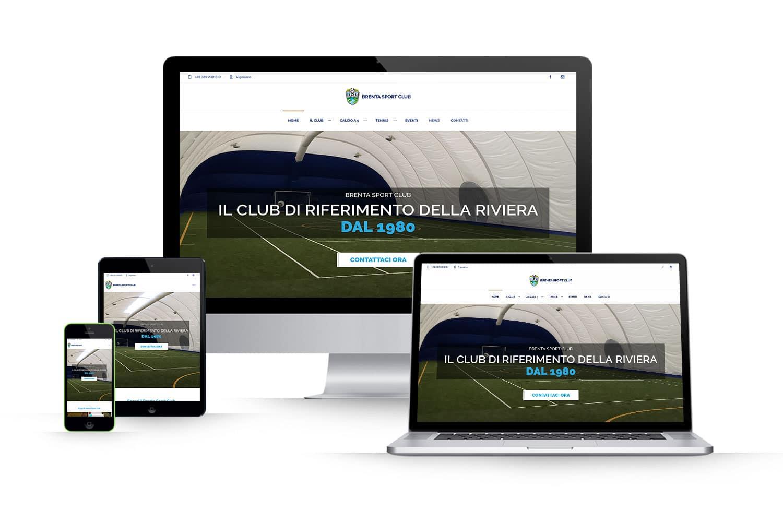 Sito Web centro sportivoLink: www.brentasporclub.com
