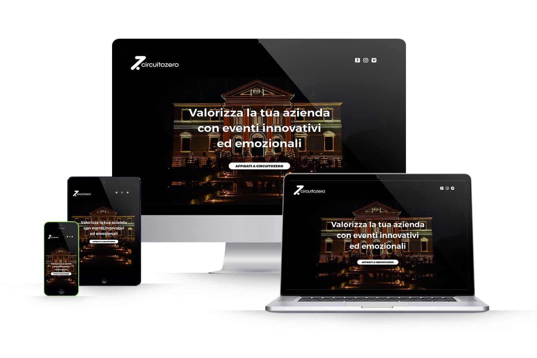 Landing Page organizzazione eventiLink: www.circuitozero.it/events/