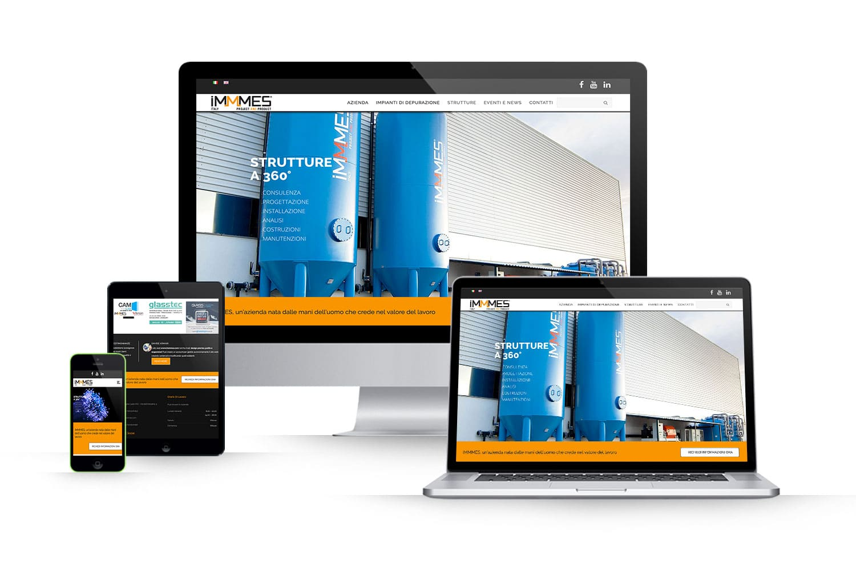 Sito Web strutture per aziendeLink: www.immmes.com