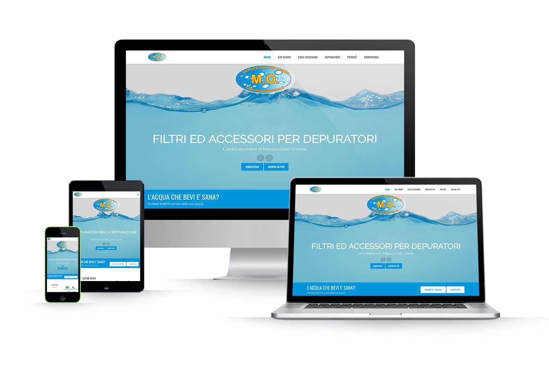 Sito Web depuratori acquaLink: www.landodepuratori.it