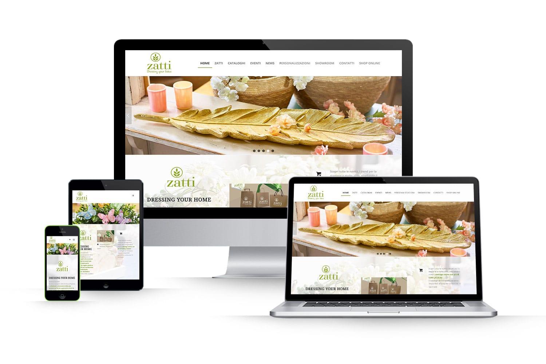 Sito Web decorazioni per la casaLink: www.zatti.it