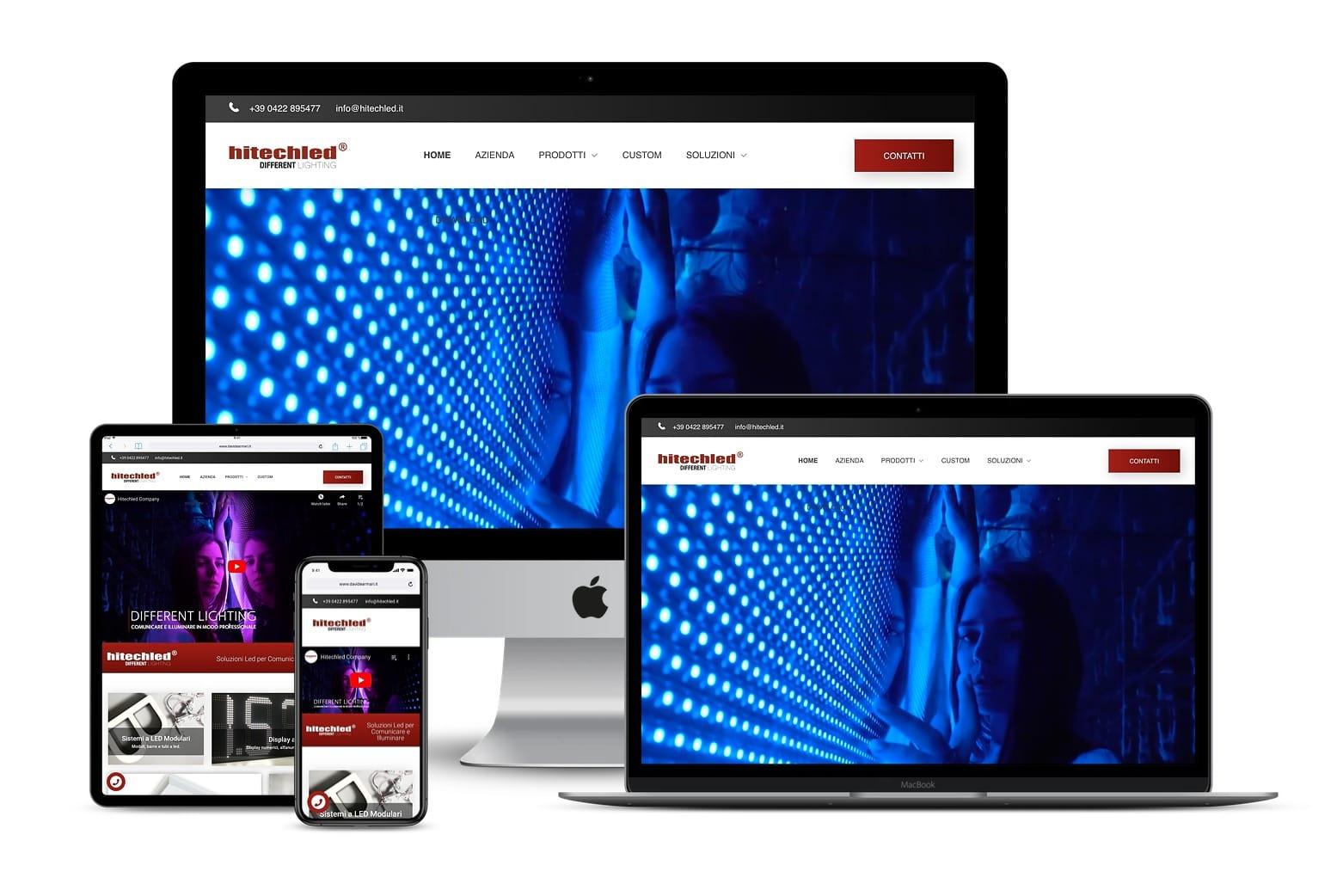 Sito Web soluzioni ledLink: www.hitechled.it