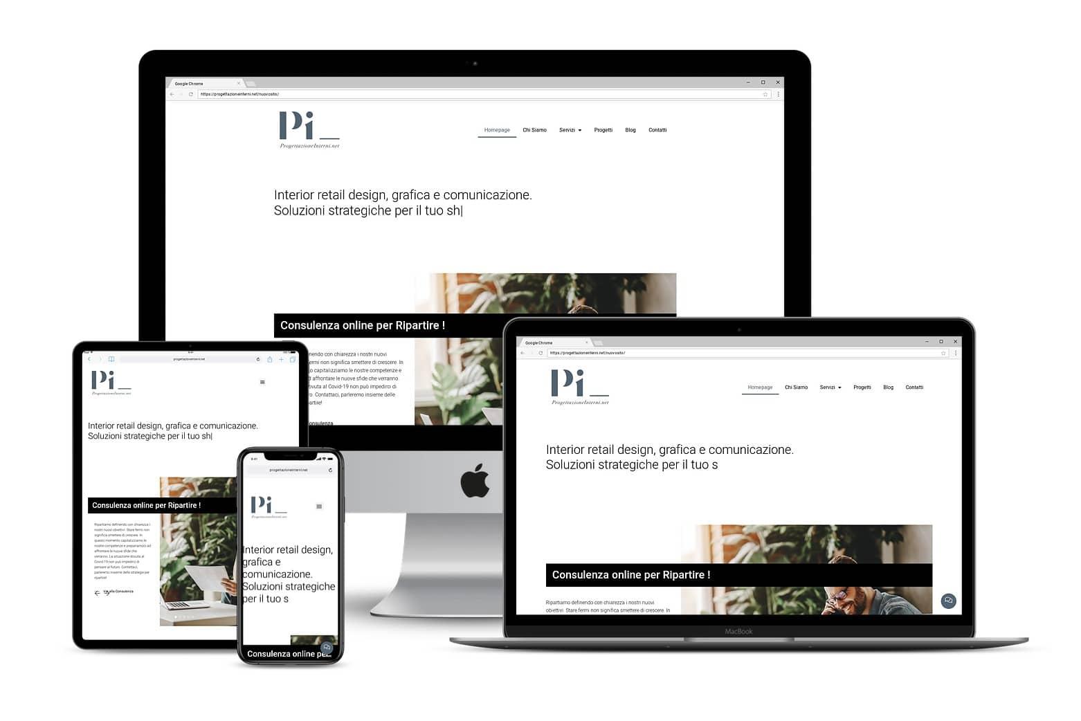 Sito Web progettazione interni marketingLink: www.progettazioneinterni.net