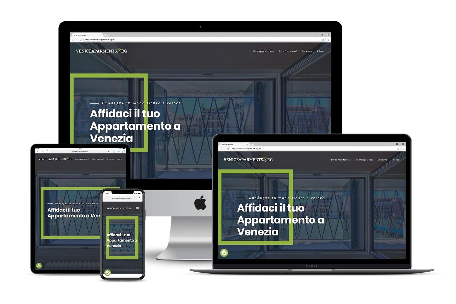 Landing Page per proprietari di appartamenti a VeneziaLink: http://owners.veniceapartments.org/