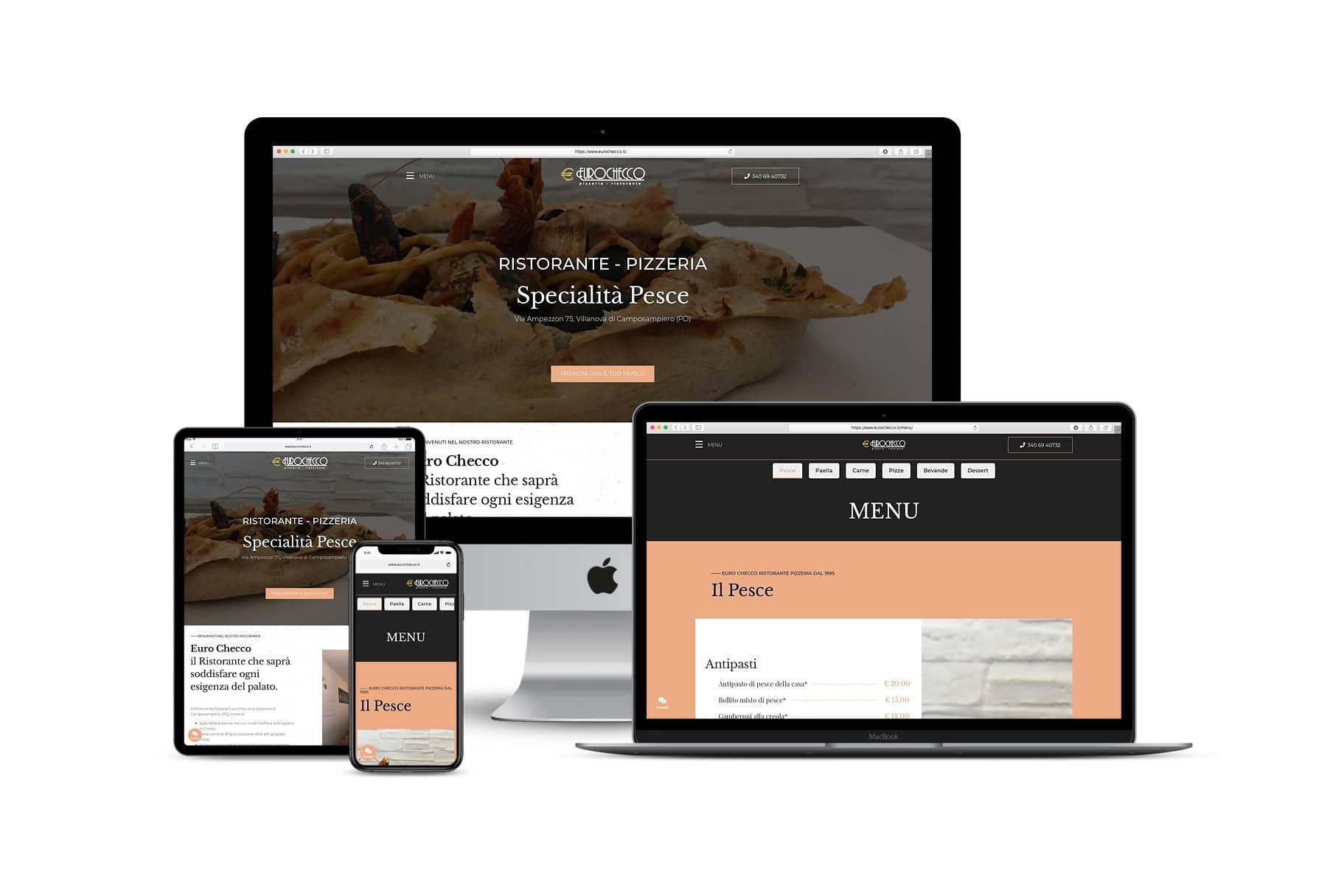 Sito Web ristorante pizzeriaLink: www.eurochecco.it